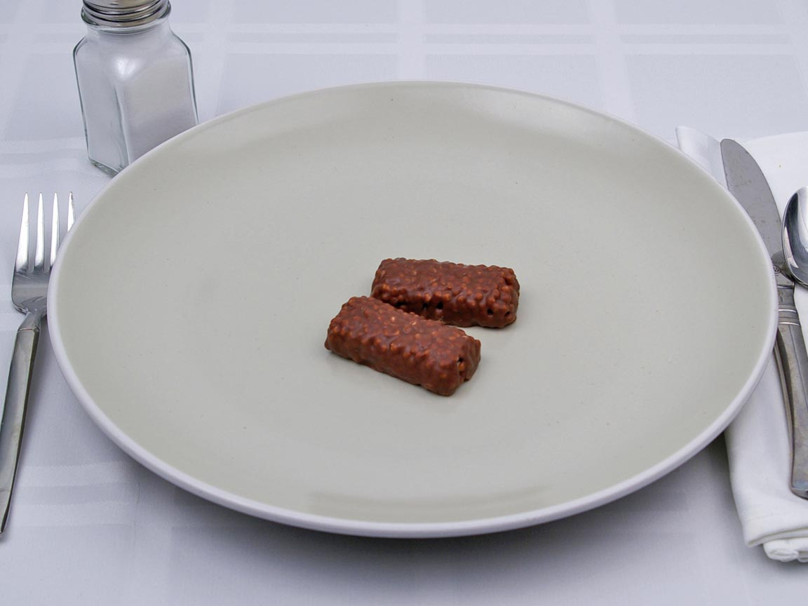 Calories in 1 bar(s) of 100 Grand