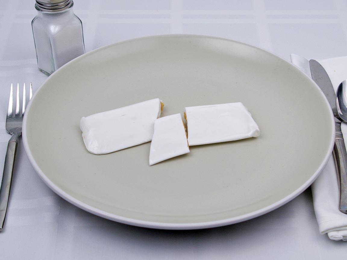 Calories in 1 piece(s) of Abba Zaba