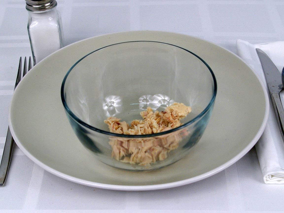Calories in 56 grams of Albacore - White Tuna in water