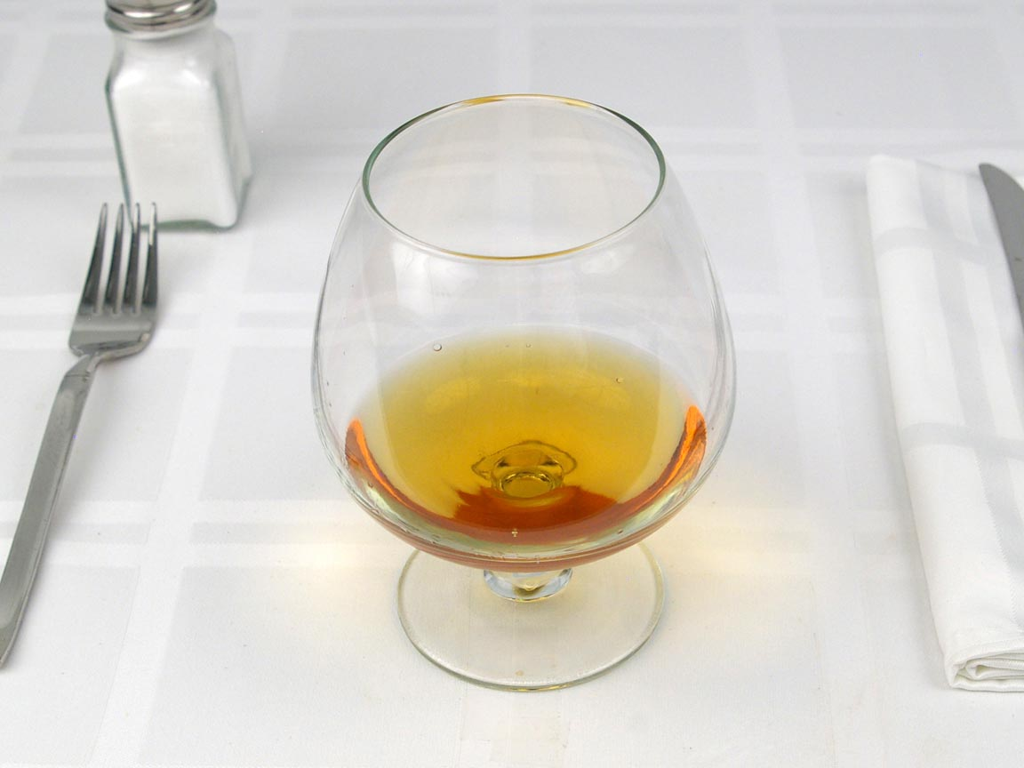 Calories in 3 fl oz(s) of Brandy - Cognac