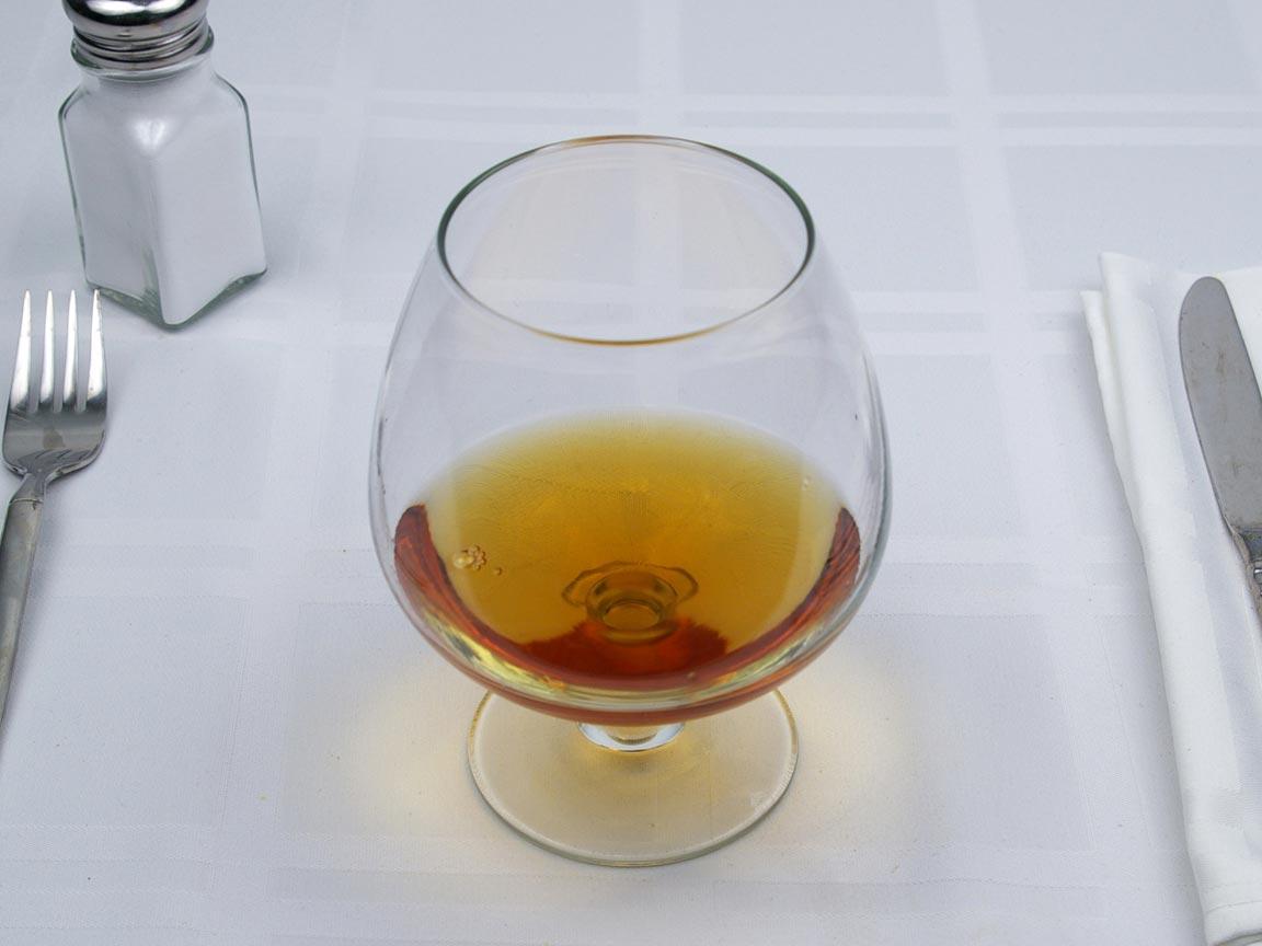 Calories in 4 fl oz(s) of Brandy - Avg
