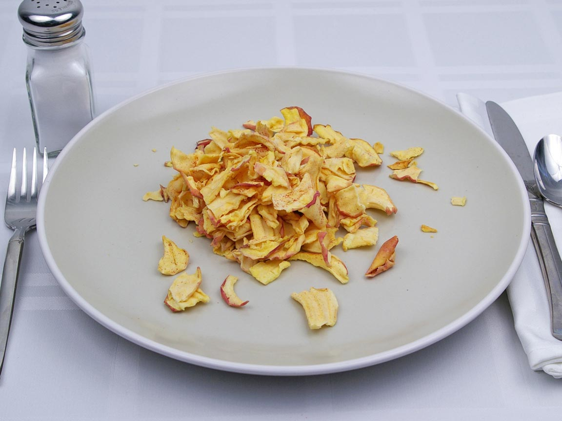 Calories in 35 grams of Apple Chips