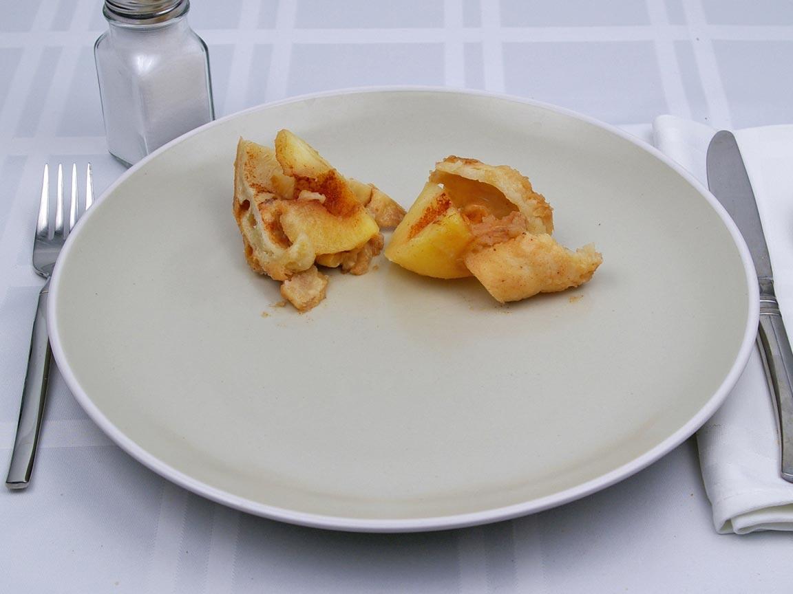Calories in 0.5 dumpling(s) of Apple Dumpling