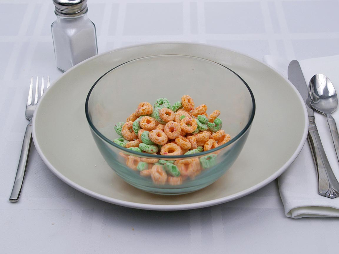 Calories in 1 cup(s) of Apple Jacks Cereal