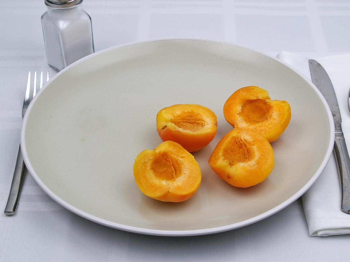 Calories in 2 fruit(s) of Apricots
