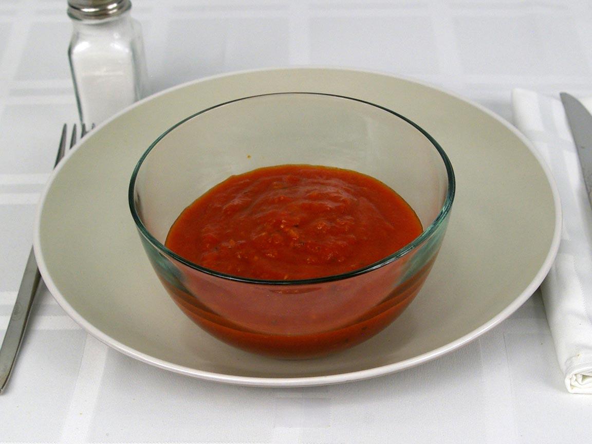 Calories in 1.25 cup(s) of Arrabiata Sauce