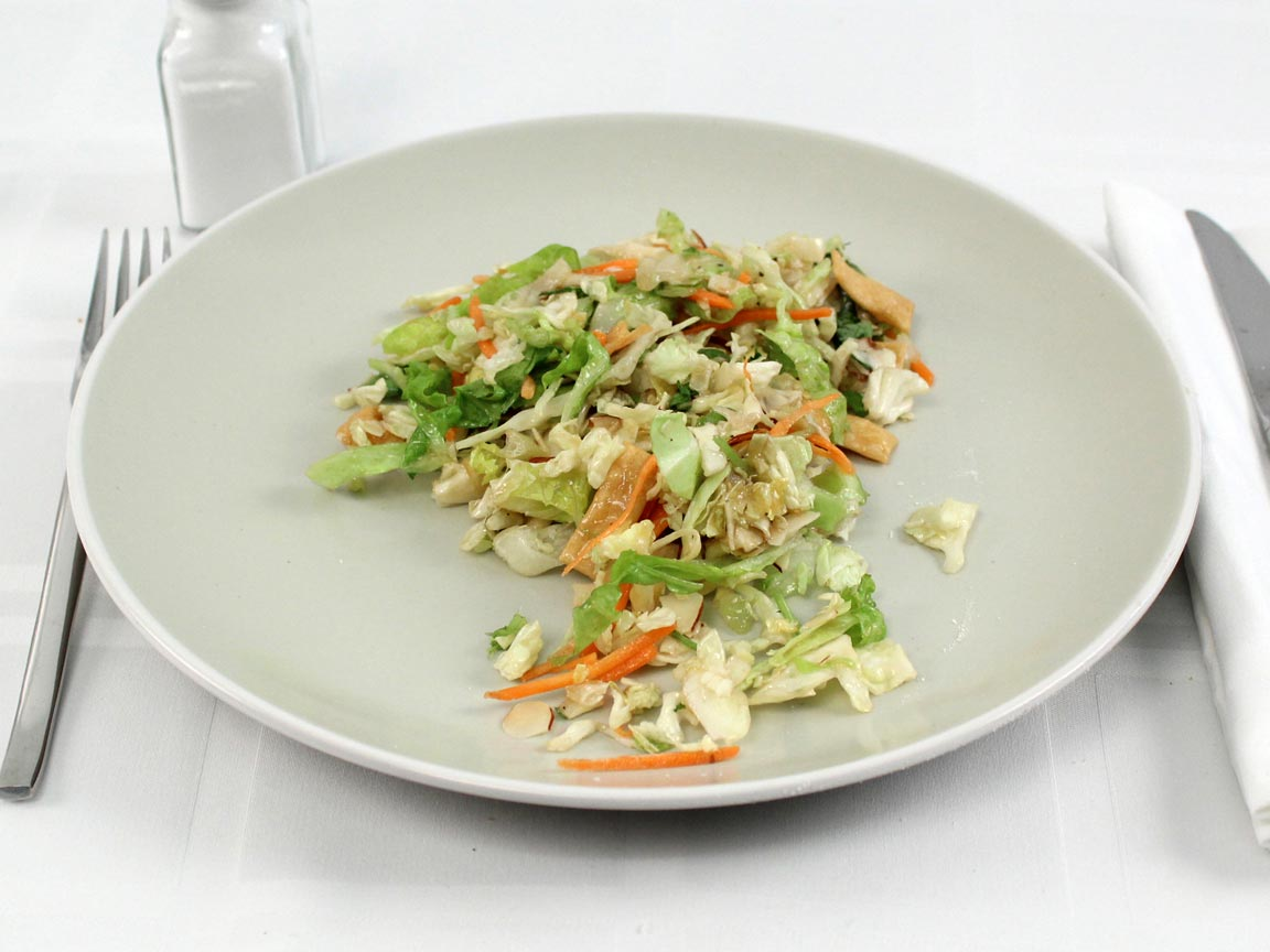 Calories in 1 cup(s) of Asian Salad Chopped Kit