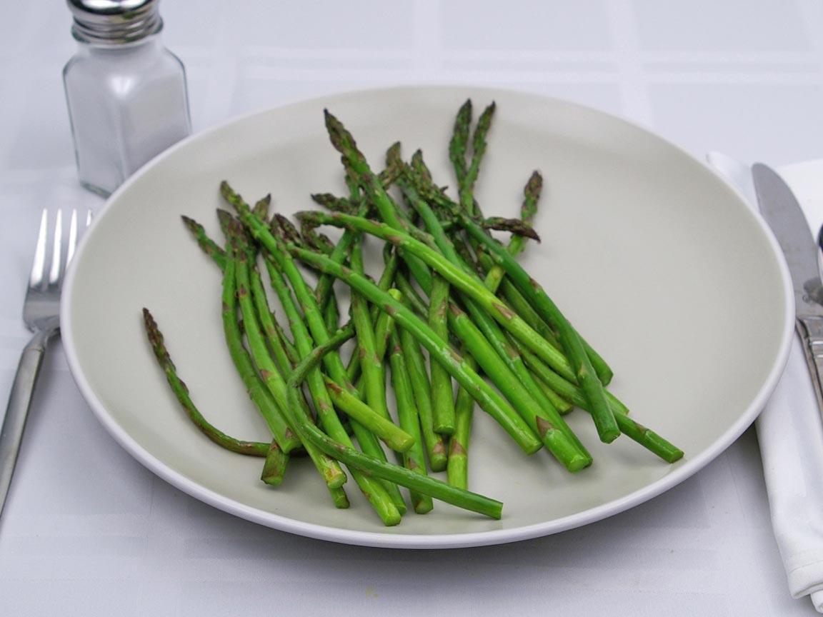 Calories in 113 grams of Asparagus - Raw