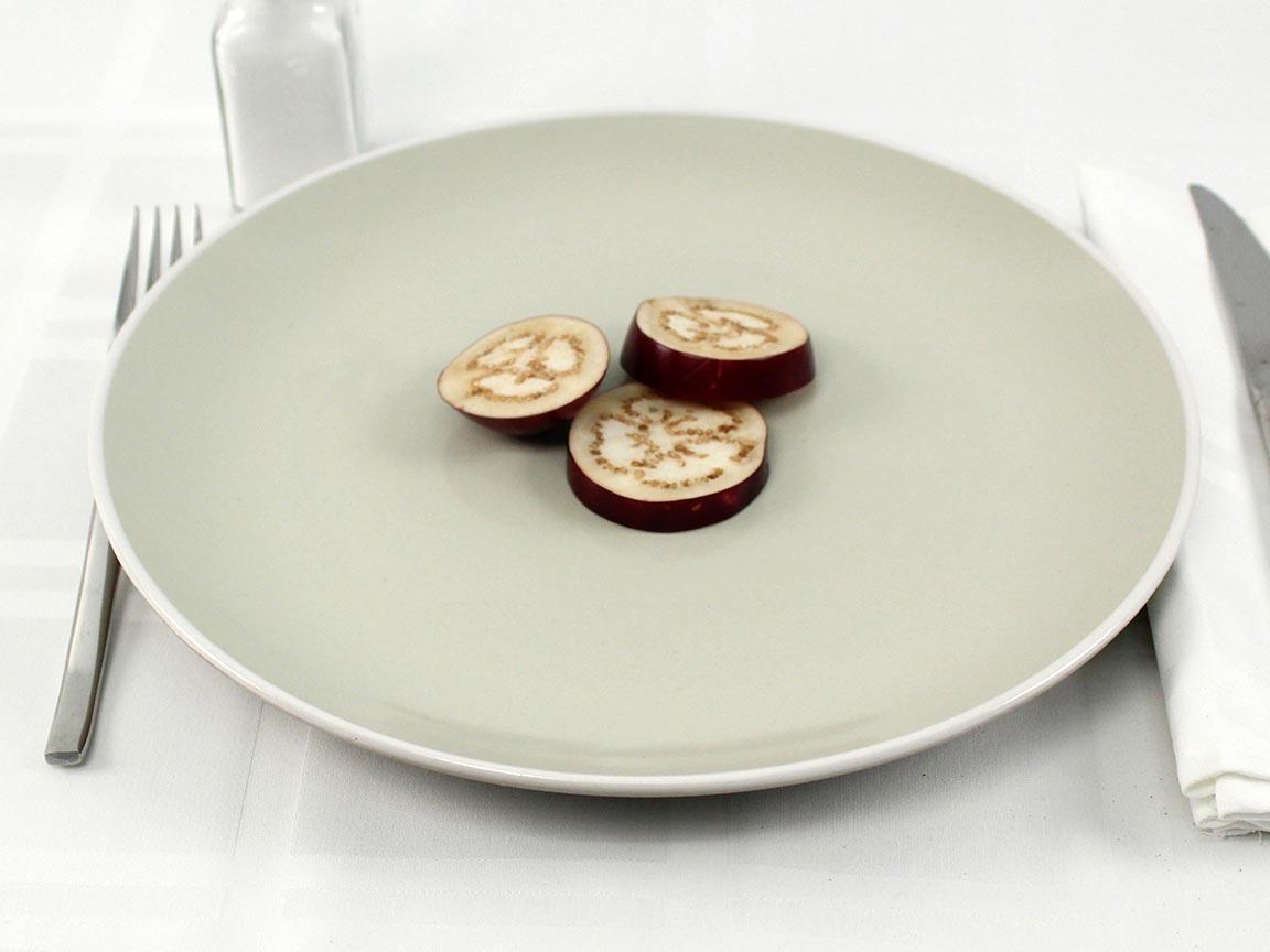 Calories in 36 grams of Baby Eggplants