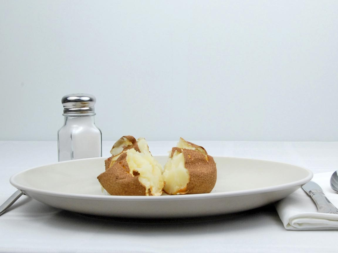 Calories in 2 potato(es) of Baked Potato - Plain