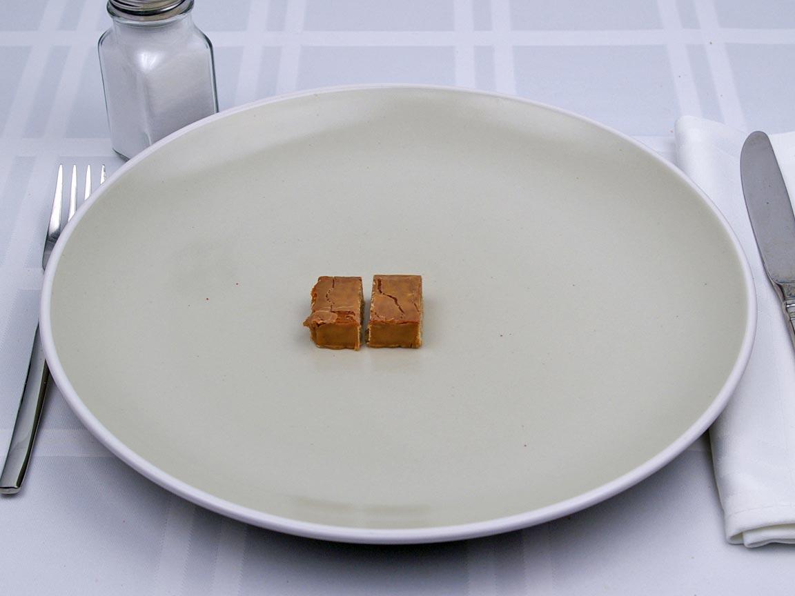 Calories in 0.5 bar(s) of Balance Bar - Peanut Butter Crisp