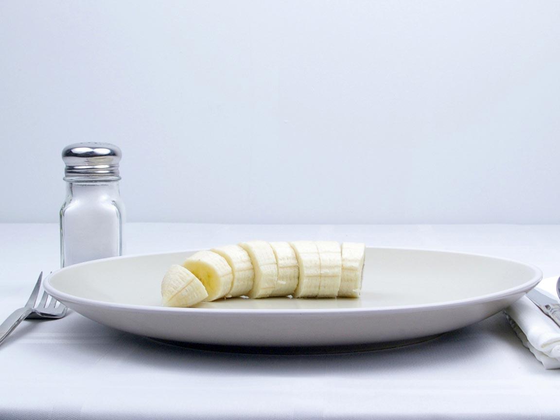 Calories in 0.5 banana(s) of Banana