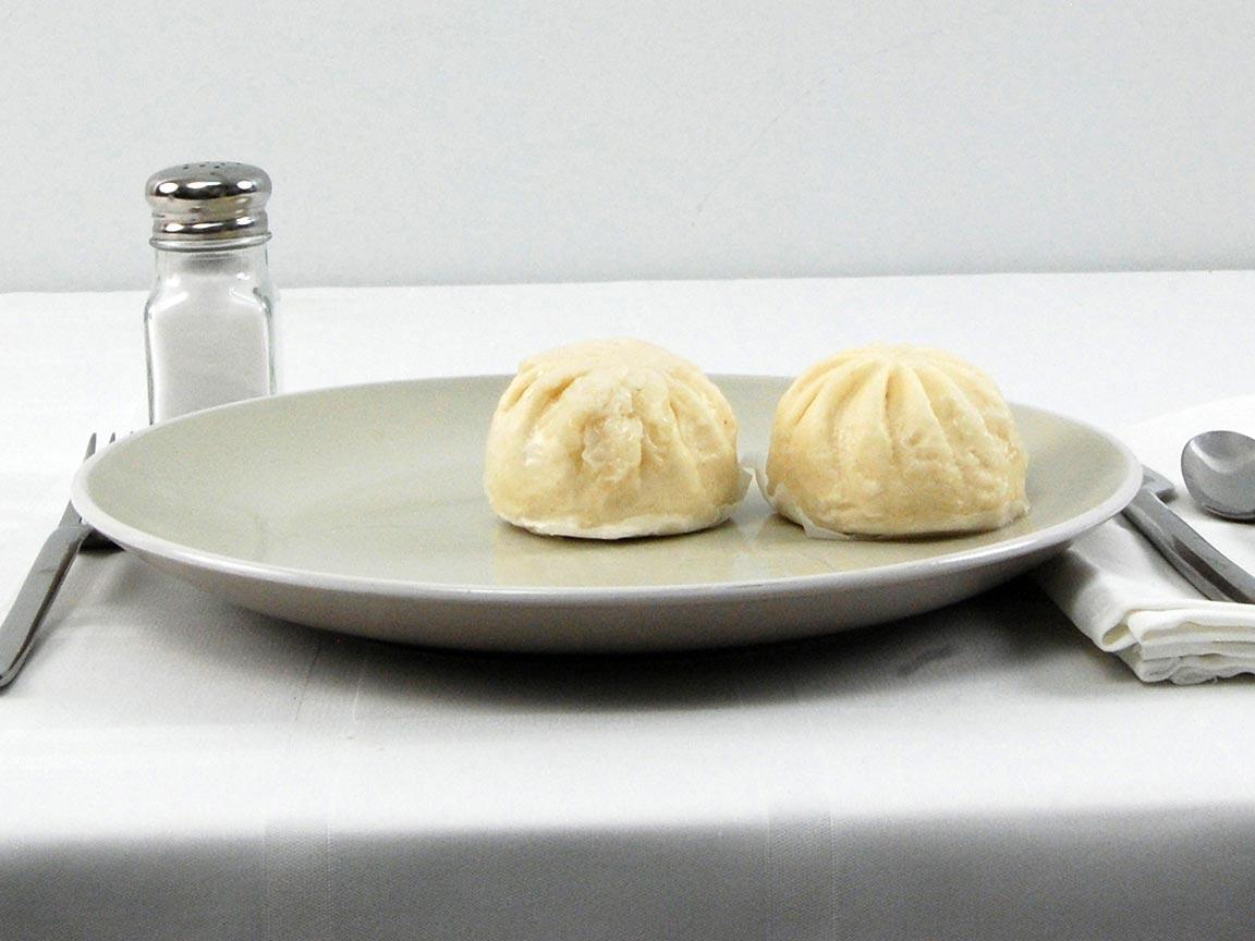 Calories in 2 bun(s) of Bao Chinese Pork Buns