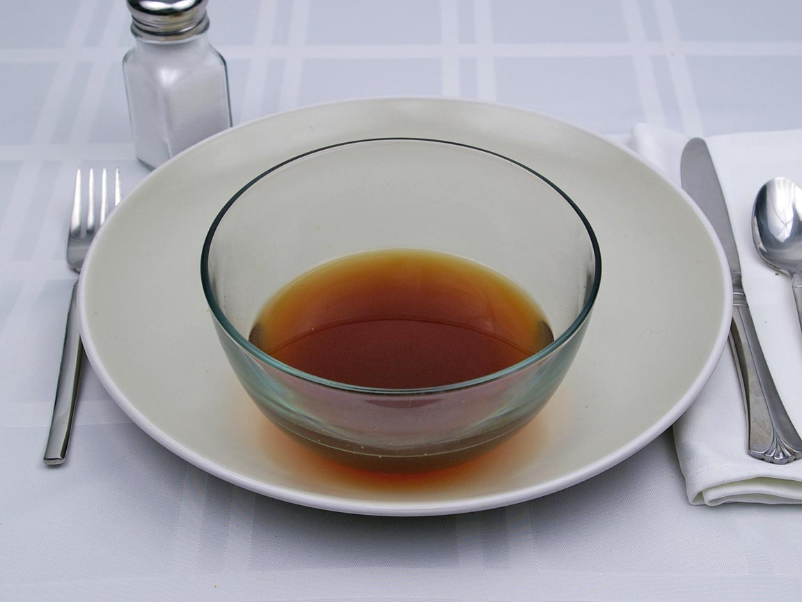 Calories in 1 cup(s) of Beef Consomme Soup