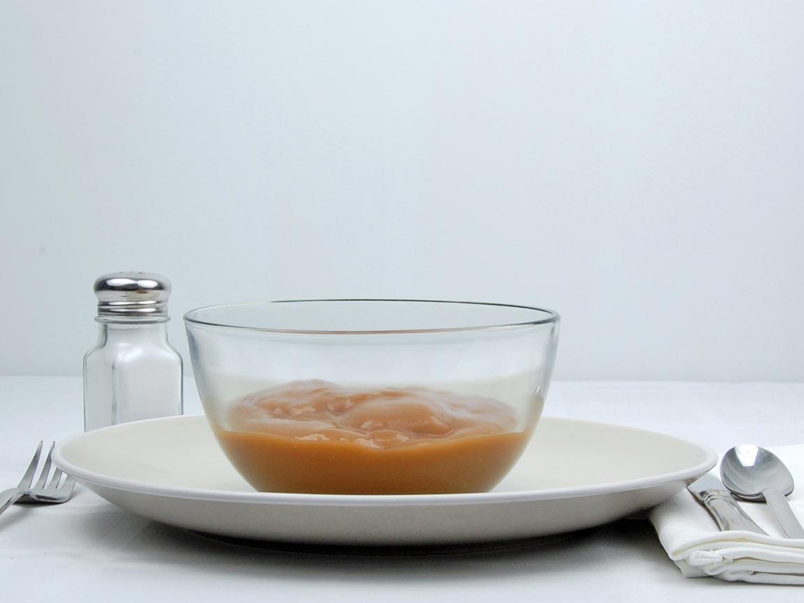 Calories in 1 cup(s) of Beef Gravy