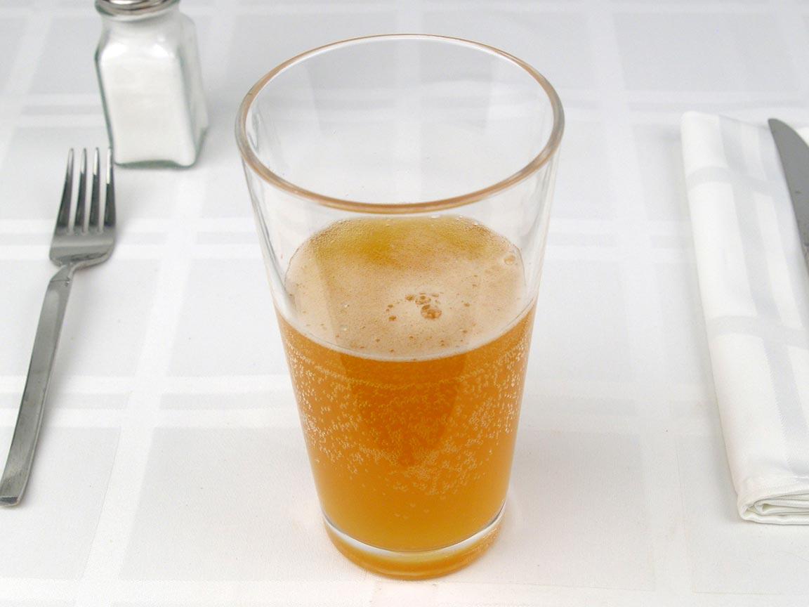 Calories in 6 fl oz(s) of Beer - Belgian White