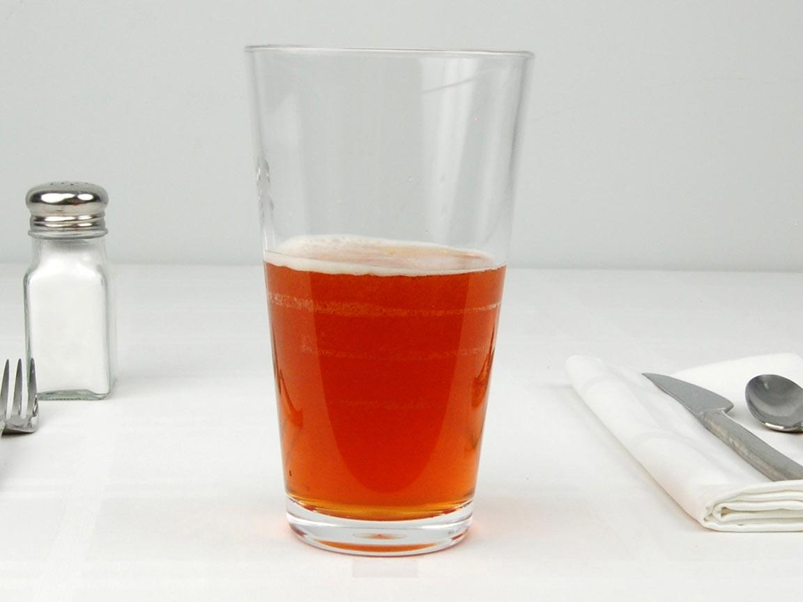 Calories in 5 fl oz(s) of Beer - Irish Red
