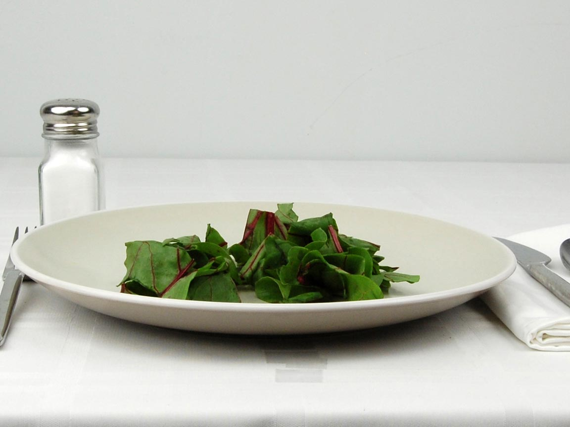 Calories in 0.75 cup(s) of Beet Greens