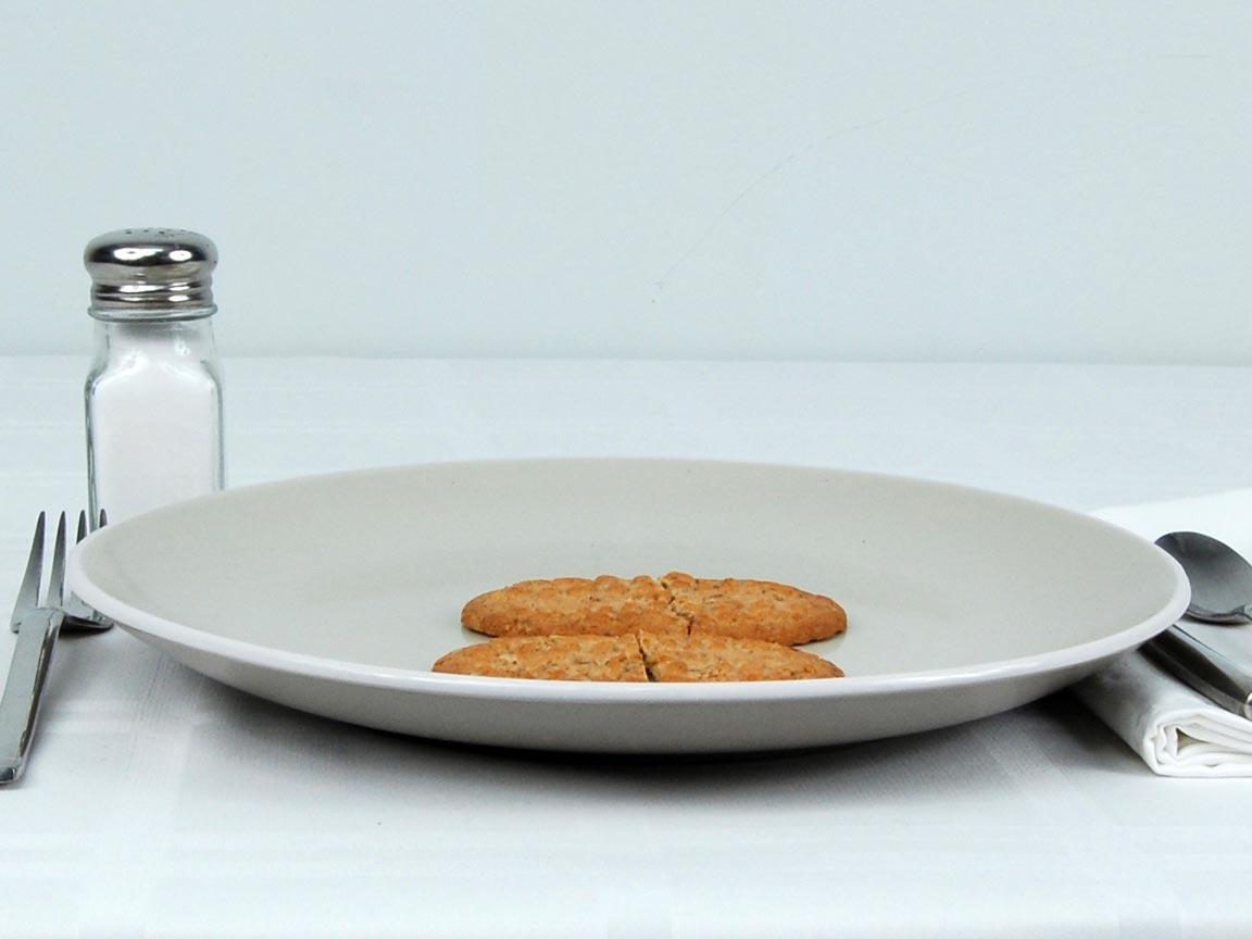 Calories in 2 ea(s) of Bel Vita Breakfast Biscuit