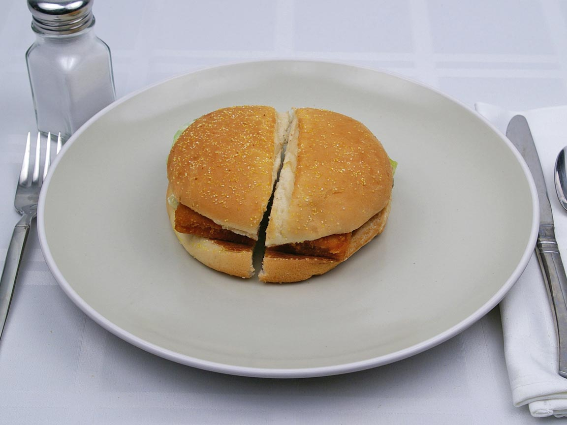 Calories in 1 sandwich(es) of Burger King - BK Big Fish
