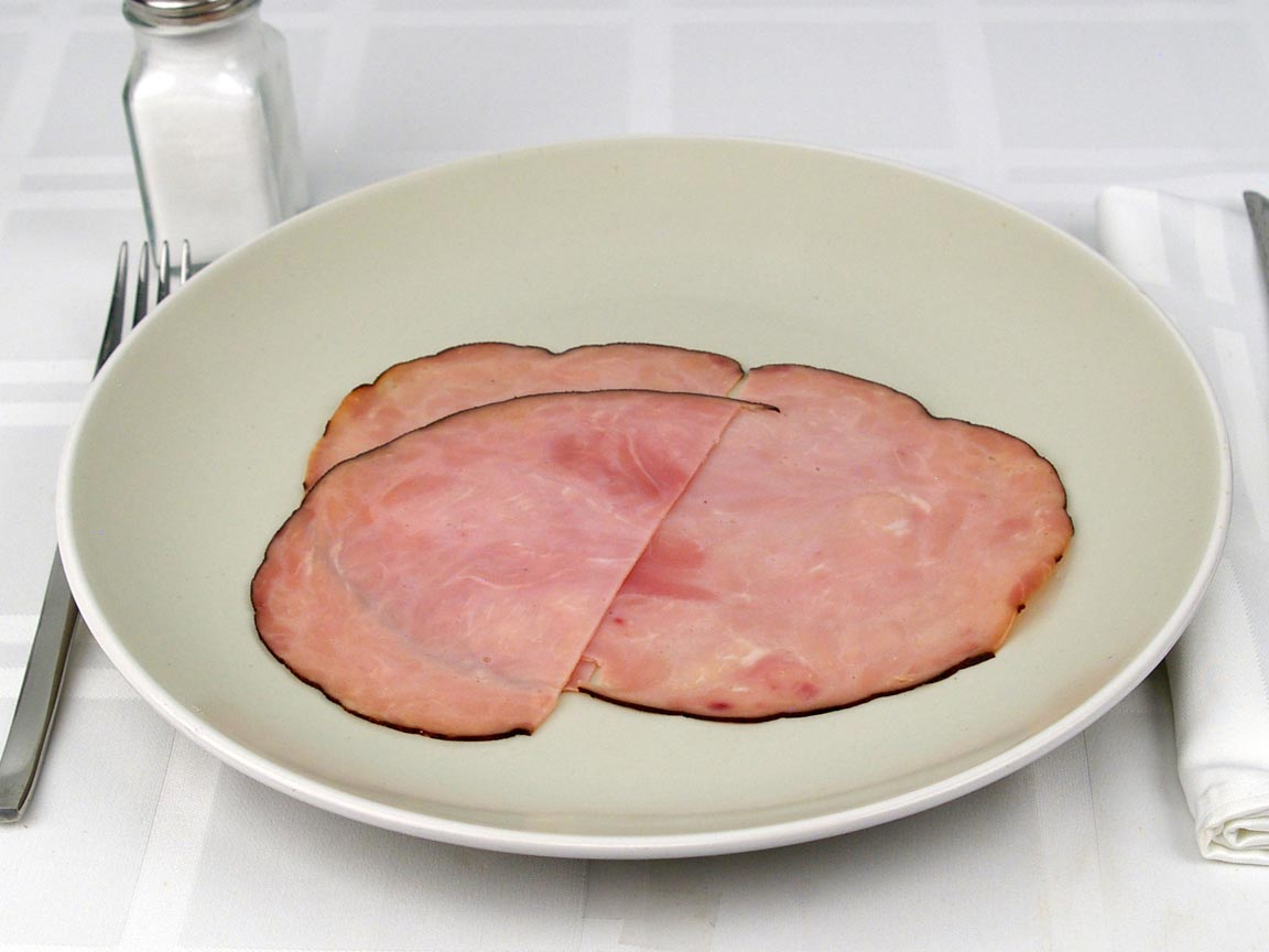 Calories in 1.5 slice(s) of Black Forest Ham