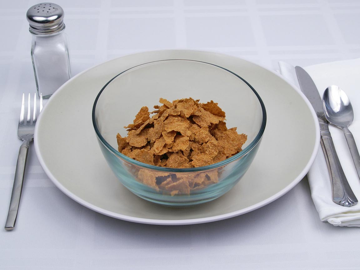 Calories in 2 cup(s) of Kellogg's - All Bran - Wheat Flakes Cereal