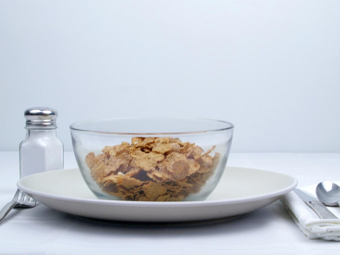 Calories in 1.2 cup(s) of Bran Flakes Cereal w / nuts
