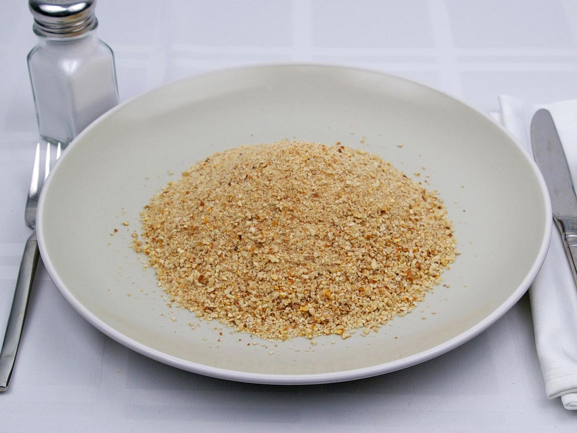 Calories in 1.33 cup(s) of Bread Crumbs - Plain - Avg