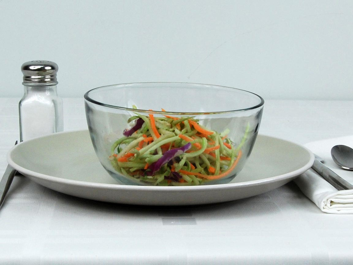 Calories in 1 cup(s) of Broccoli Slaw
