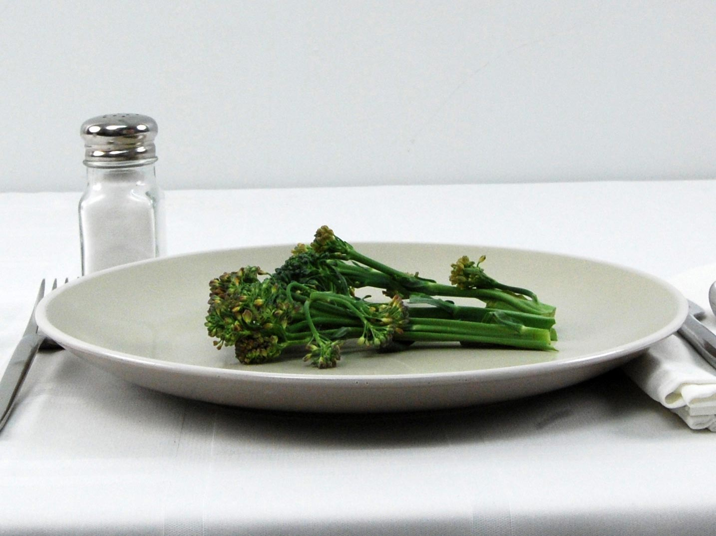 Calories in 27 grams of Broccolini