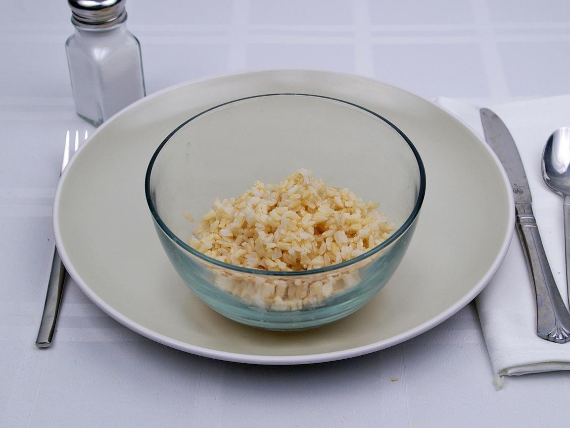 Calories in 1 cup(s) of Brown Rice - Long Grain