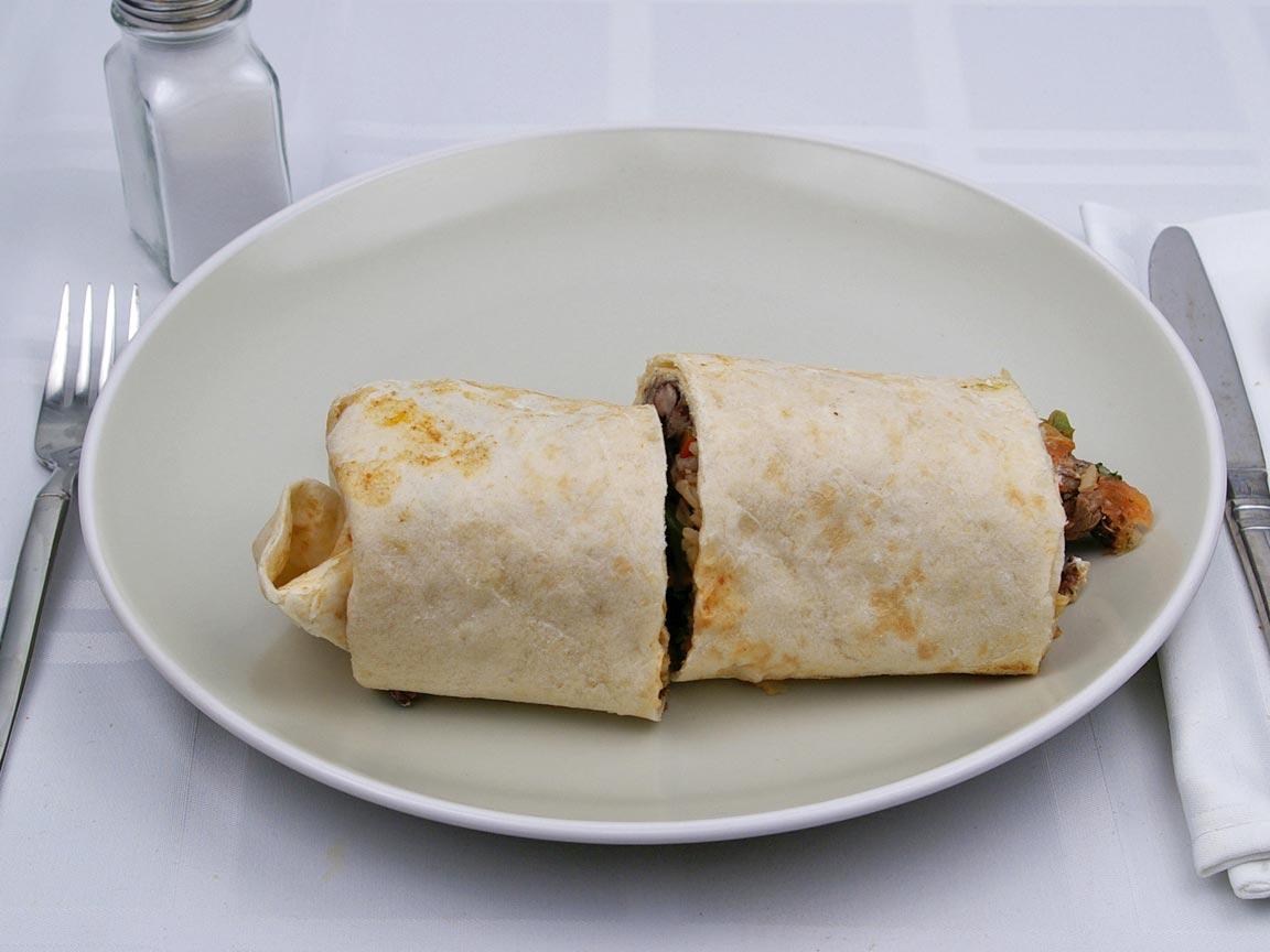 Calories in 1 burrito(s) of Baja Fresh - Baja Burrito Carnitas