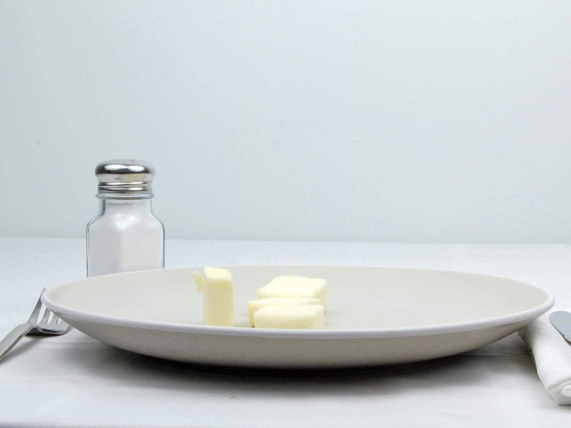 Calories in 4 Tbsp(s) of Butter - Salted