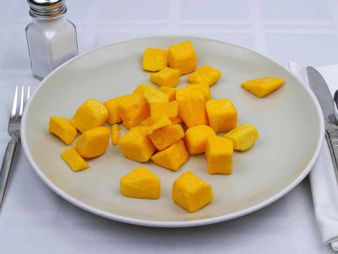 Calories in 1.5 cup(s) of Butternut Squash