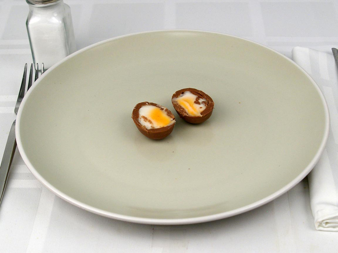 Calories in 1 egg(s) of Cadbury Creme Egg