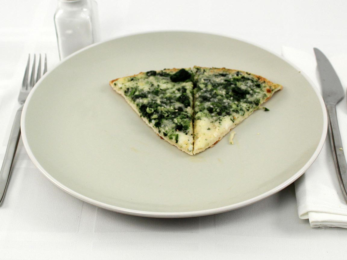 Calories in 2 piece(s) of California Pizza Kitchen - White Recipe