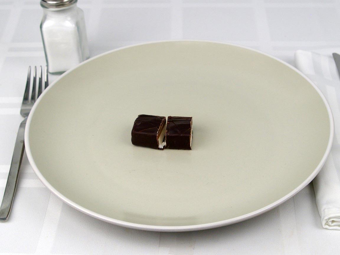 Calories in 0.5 bar(s) of Milky Way Dark