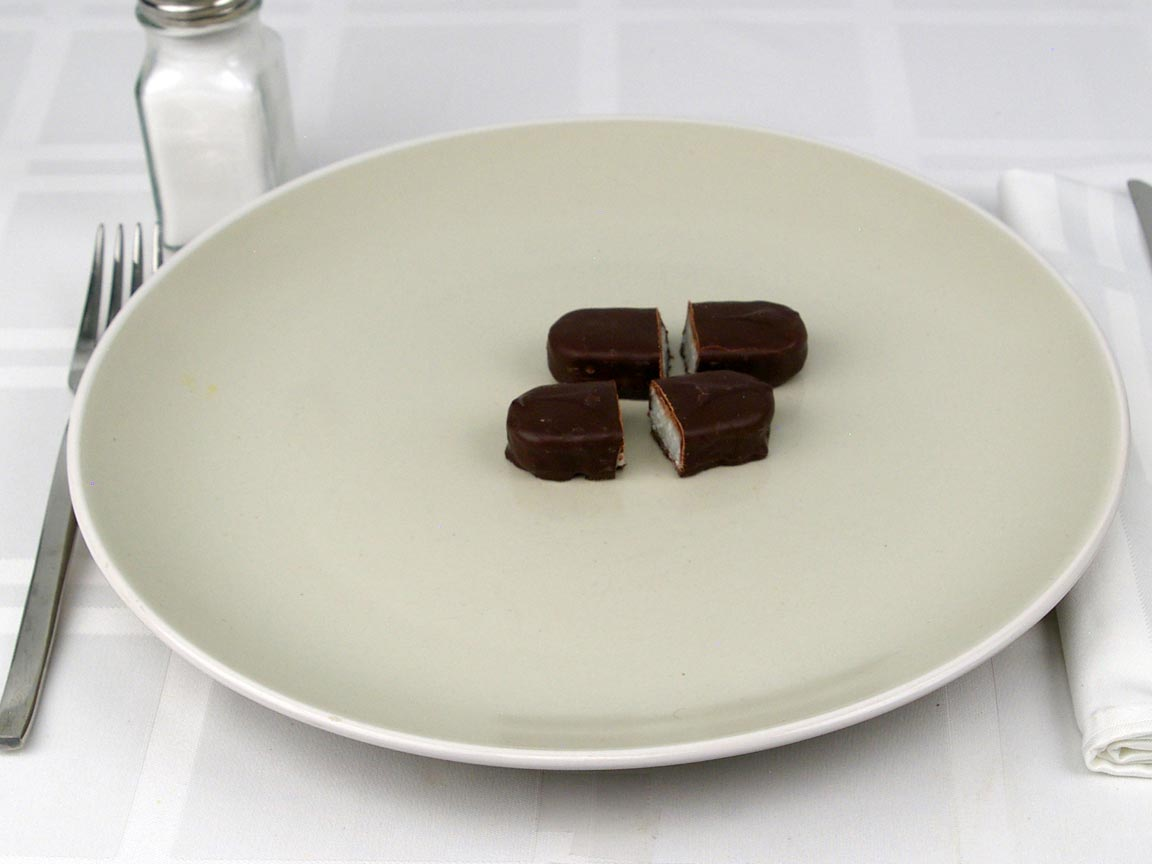 Calories in 1 bar(s) of Mounds