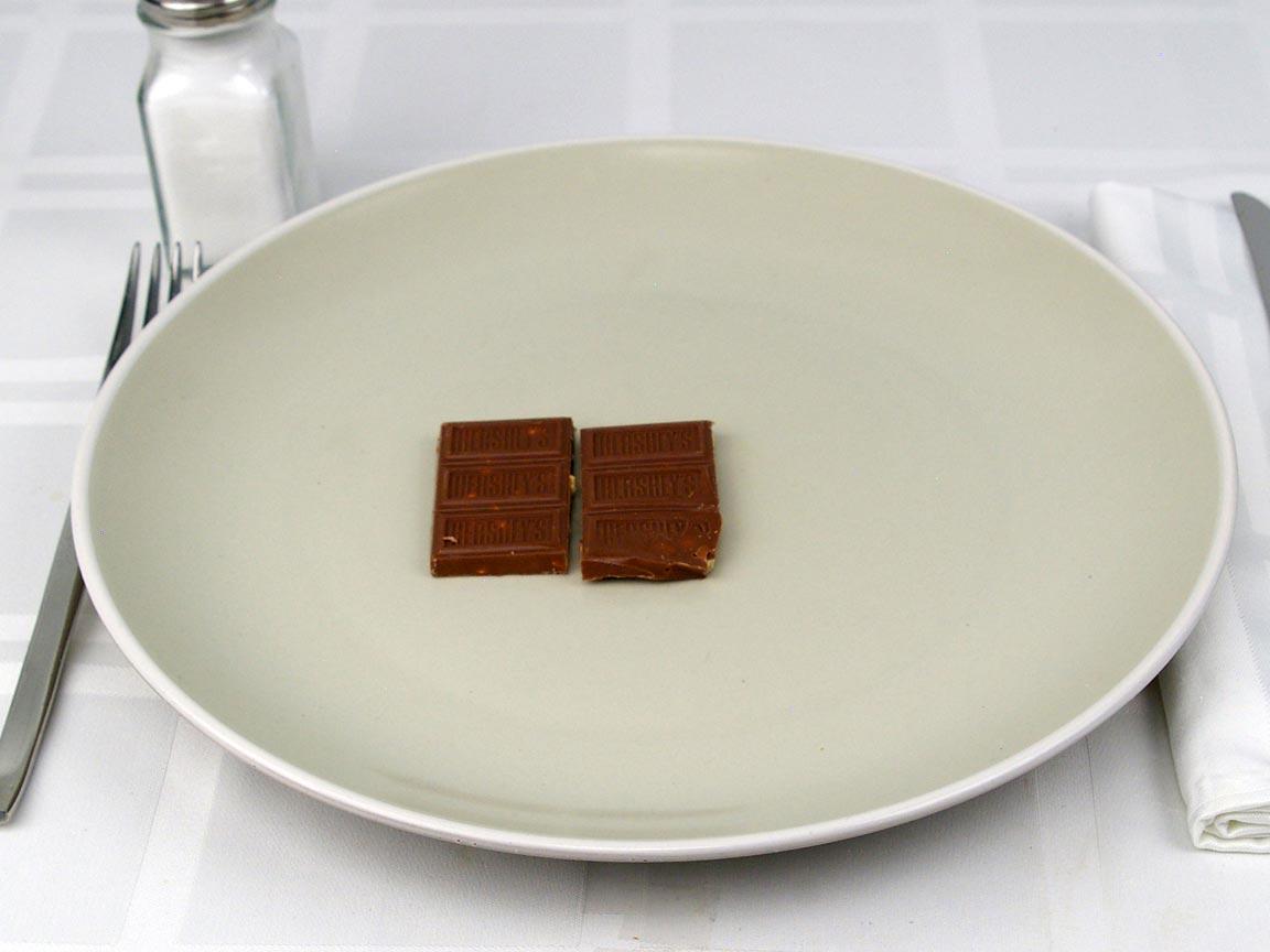 Calories in 0.5 bar(s) of Mr Goodbar