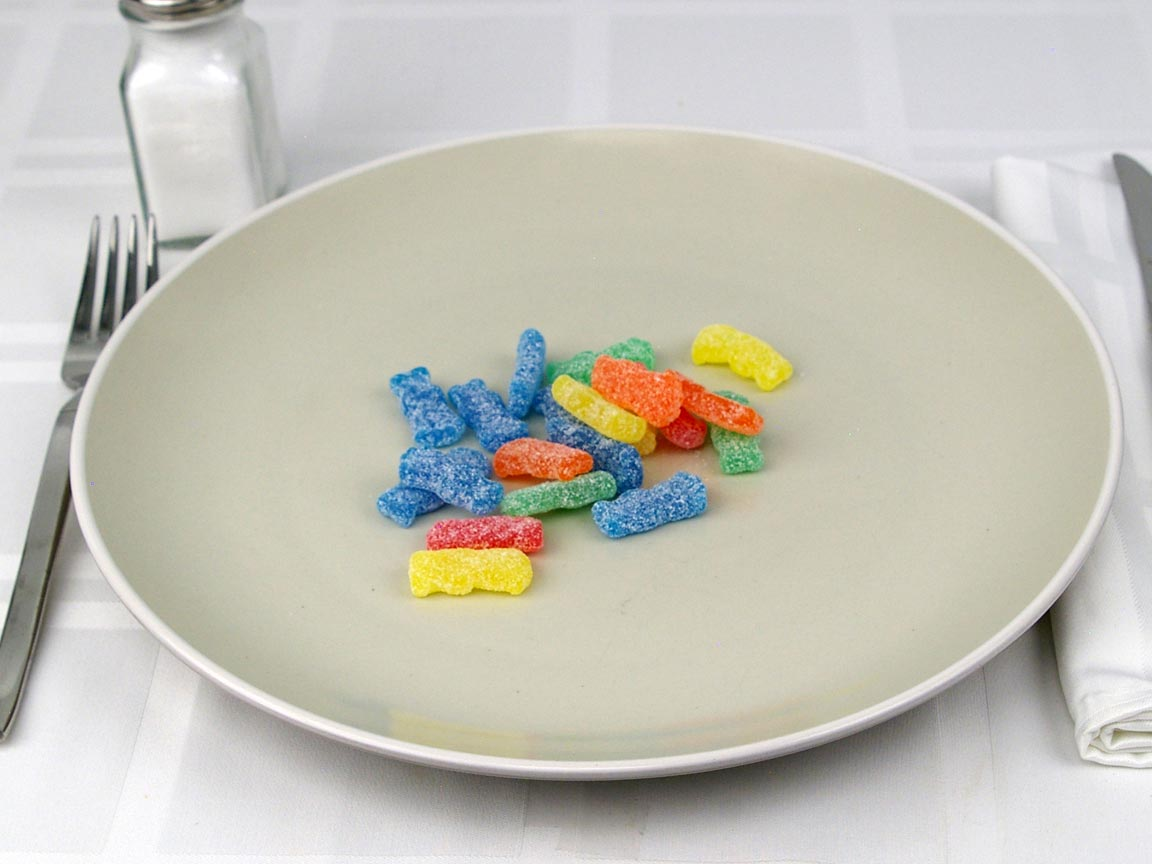 Calories in 20 piece(s) of Sour Patch Kids