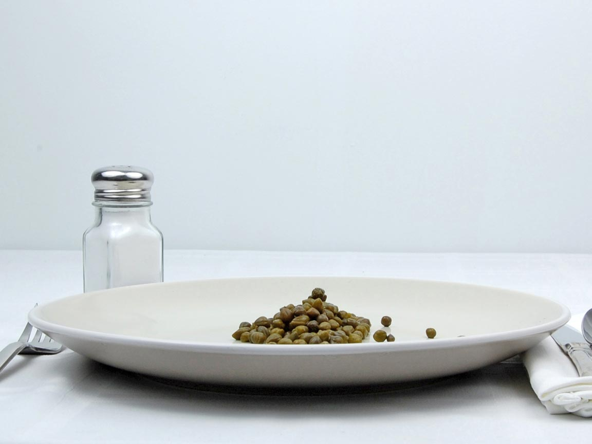 Calories in 2.5 Tbsp(s) of Capers