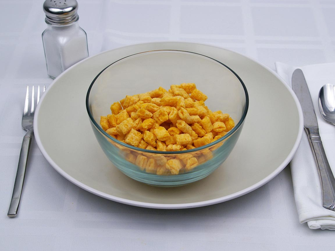 Calories in 1.25 cup(s) of Cap'n Crunch Cereal