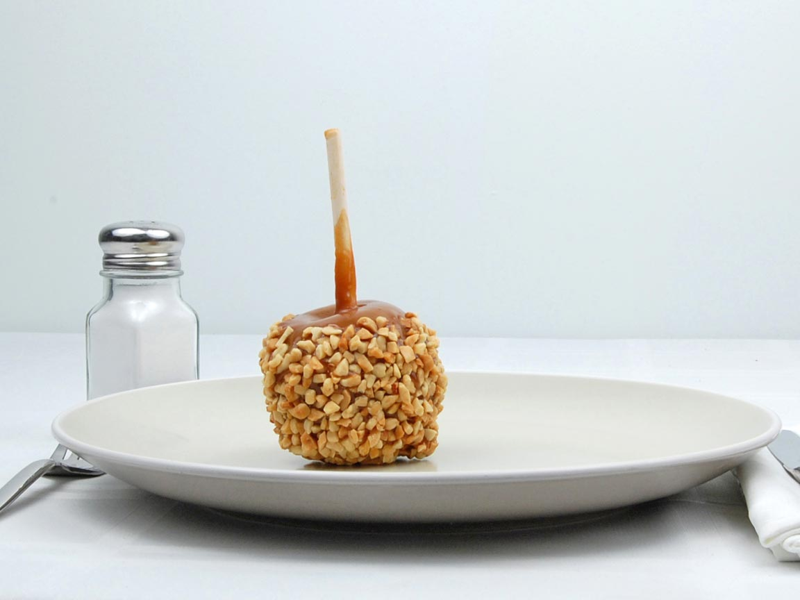 Calories in 1 apple(s) of Caramel Apples