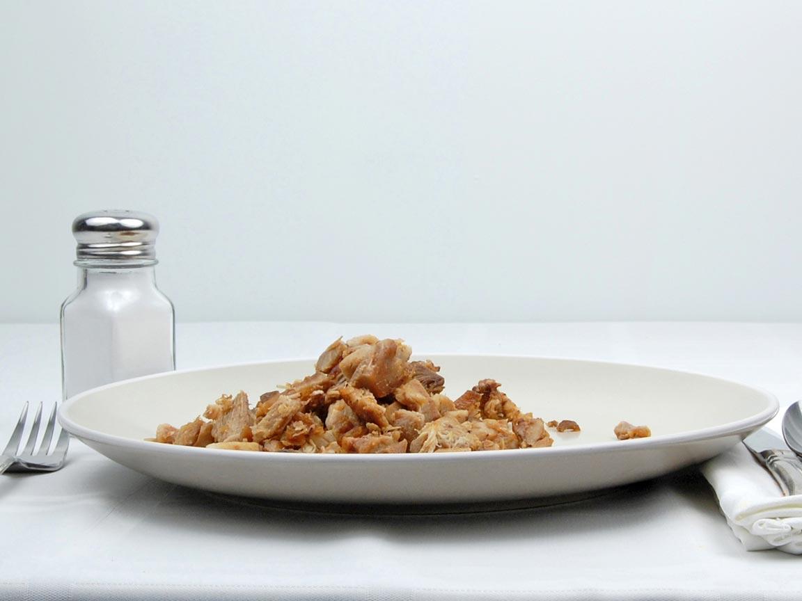 Calories in 113 grams of Carnitas - Pulled Pork - Avg