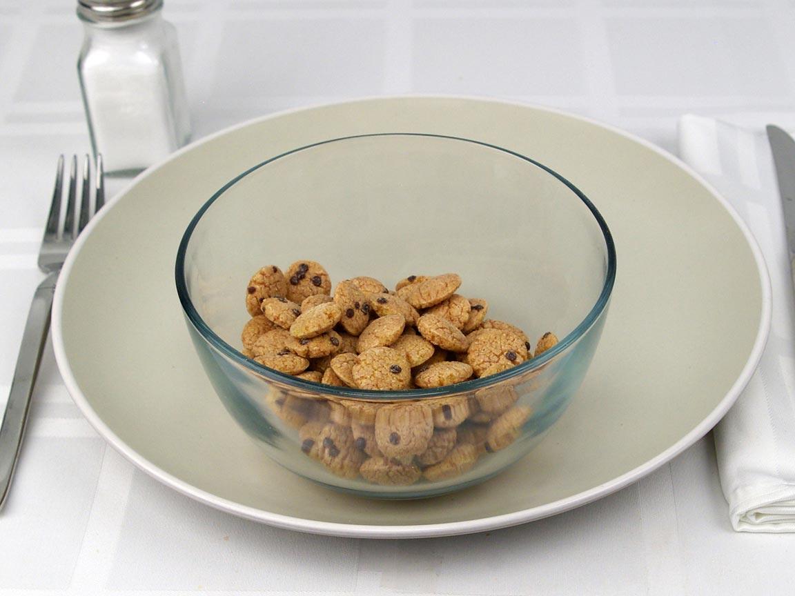 Calories in 0.17 cup(s) of Cookie Crisp Cereal