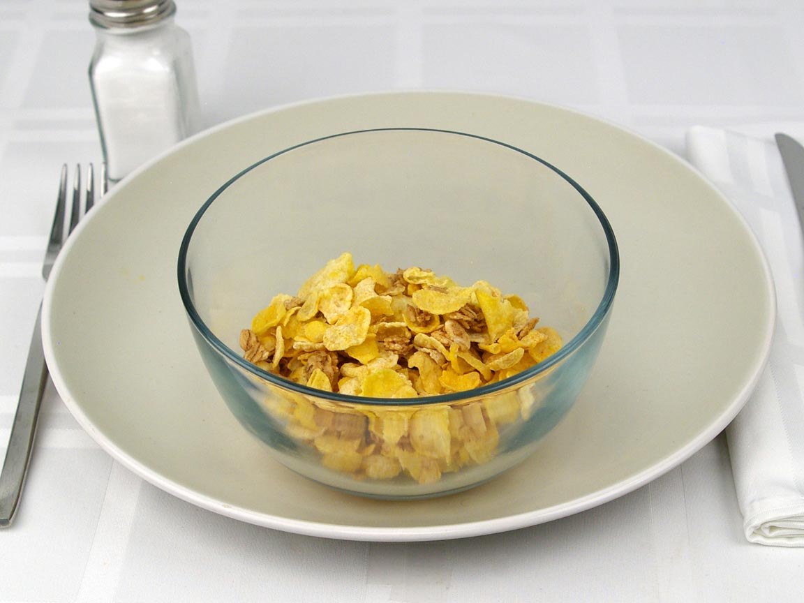 Calories in 1 cup(s) of Honey Bunches of Oats Cereal