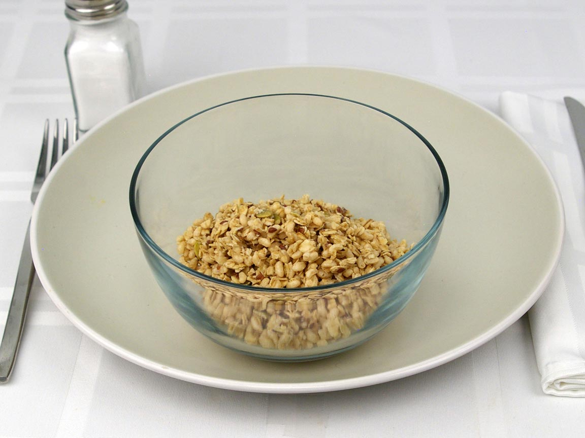 Calories in 1 cup(s) of Pumpkin Flax Granola Cereal