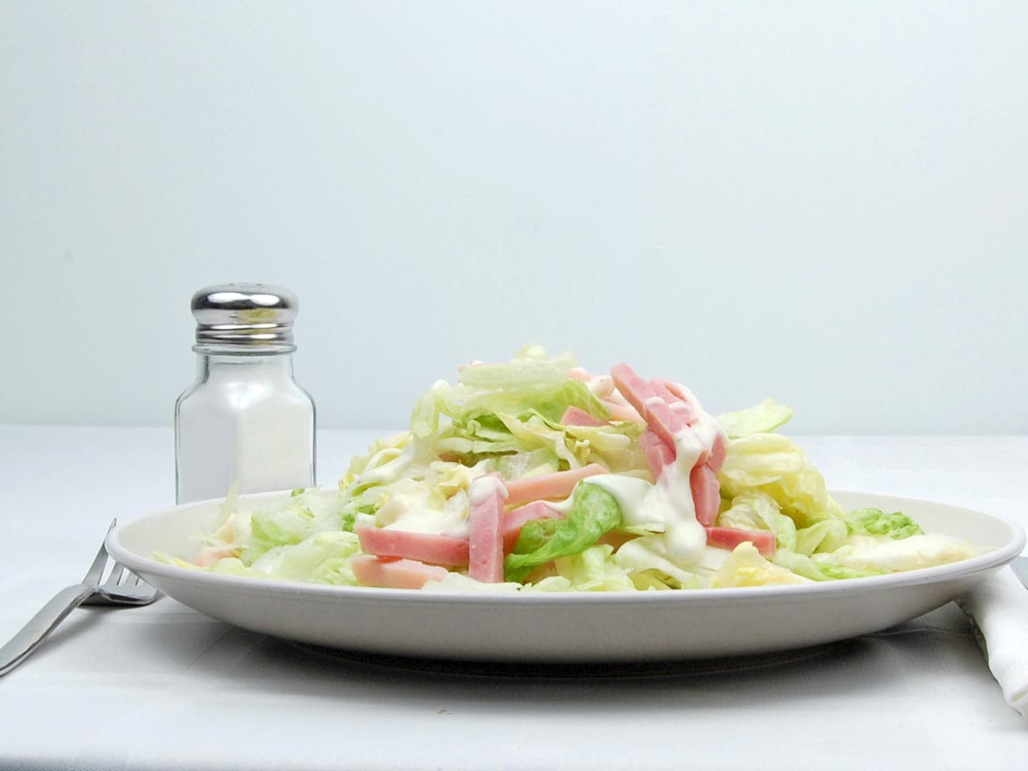 Calories in 283 grams of Chef Salad - with Ranch Dressing