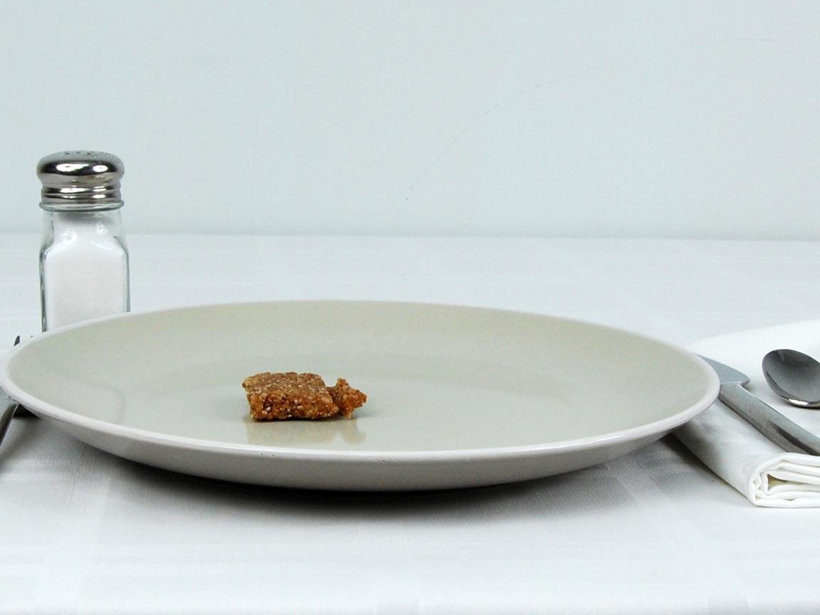 Calories in 0.5 ea(s) of Chia Bar