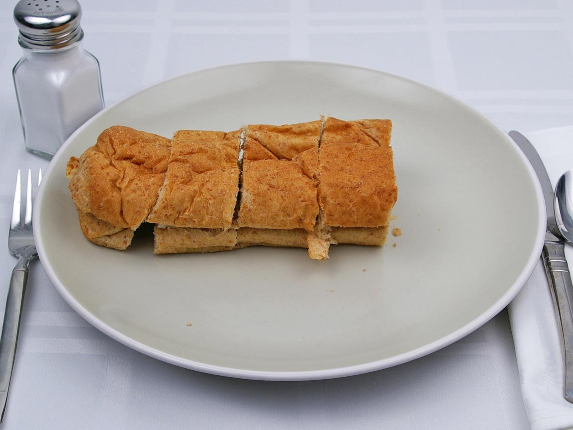 Calories in 0.5 footlong(s) of Subway - Chicken Breast Sandwich - Plain